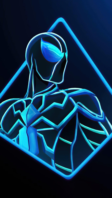 Wallpaper Spider Man Future Foundation Suit Vertical