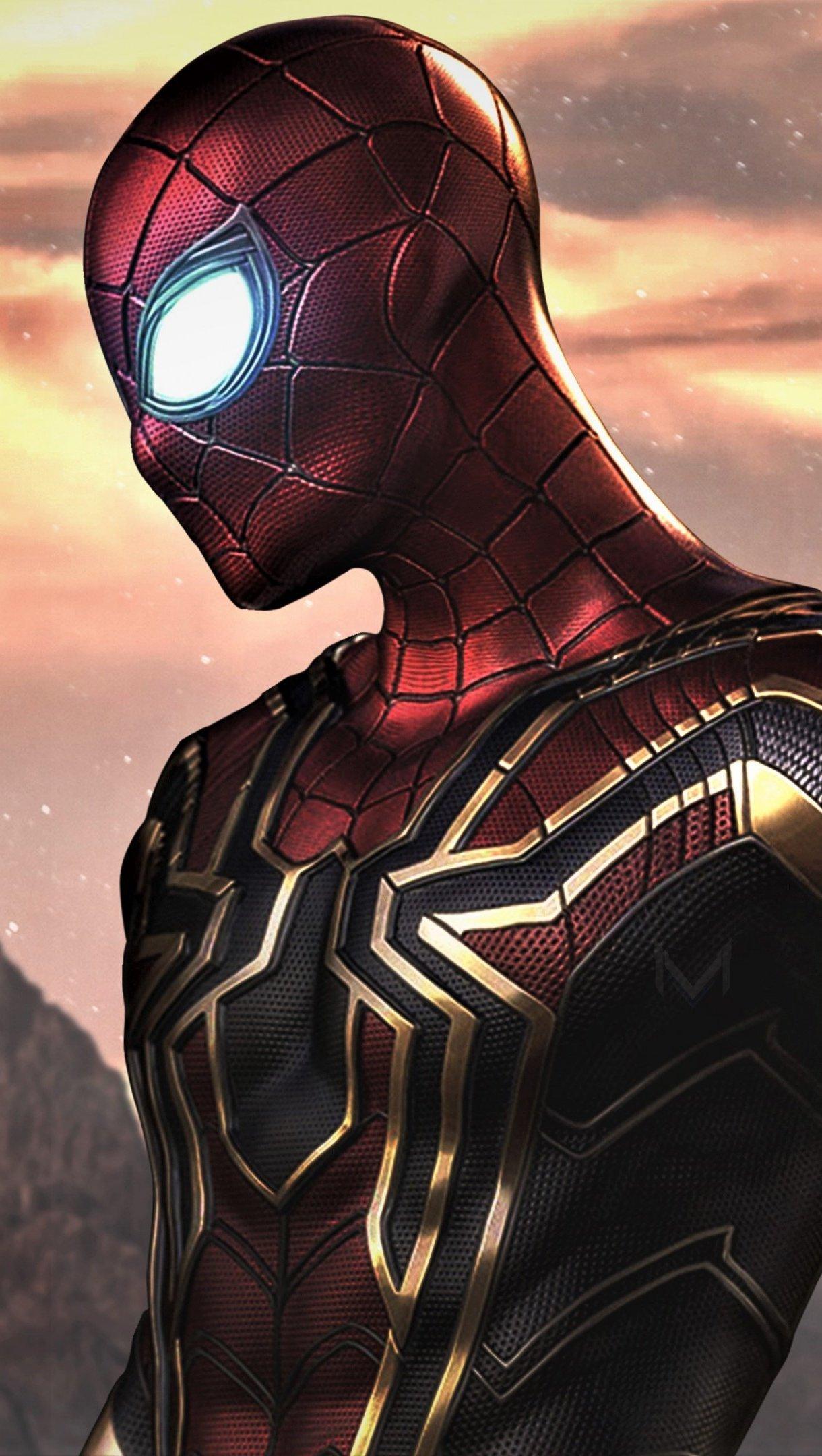 Wallpaper Spider-Man: Far From Home Vertical