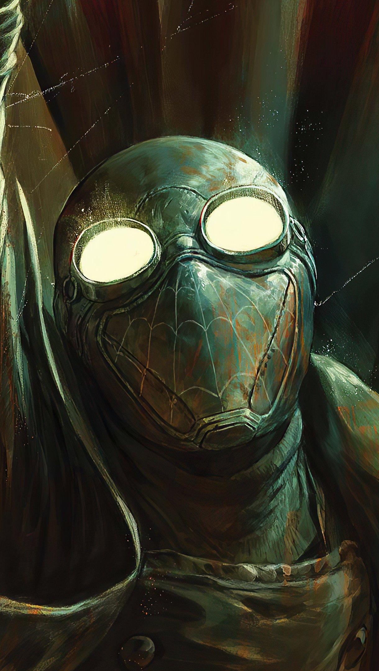 Wallpaper Spider Man Noir 2020 Vertical
