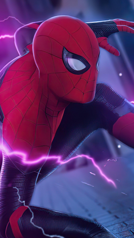Wallpaper Spider Man Surreal Vertical