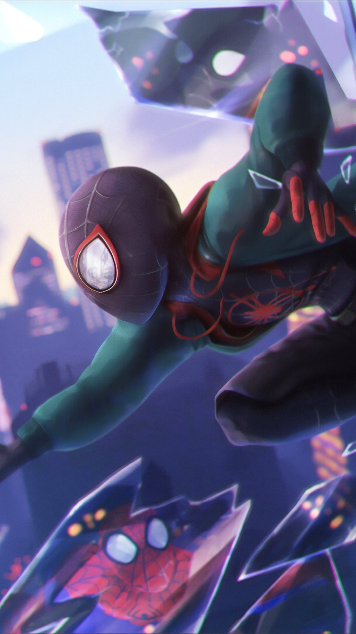 Fondos de pantalla Spider-Man: Un nuevo universo Vertical