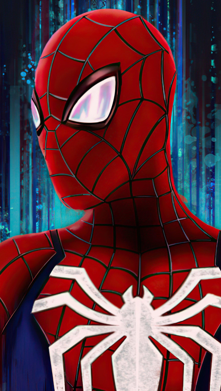 Fondos de pantalla Spiderman Fanart Vertical