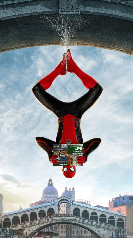 Fondos de pantalla Spiderman Lejos de casa Vertical