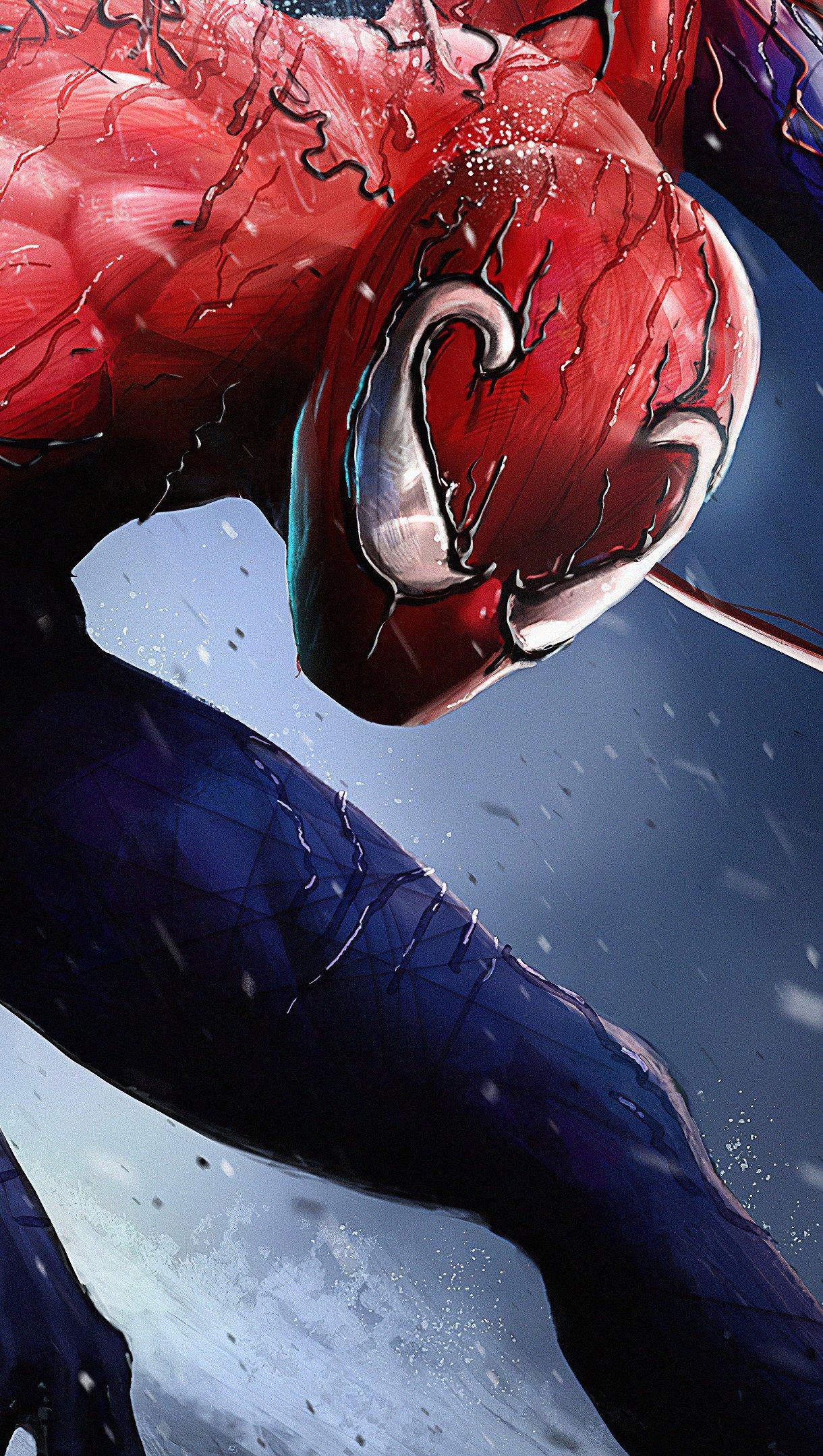 Fondos de pantalla Spiderman Tokin Dark Hearts Vertical