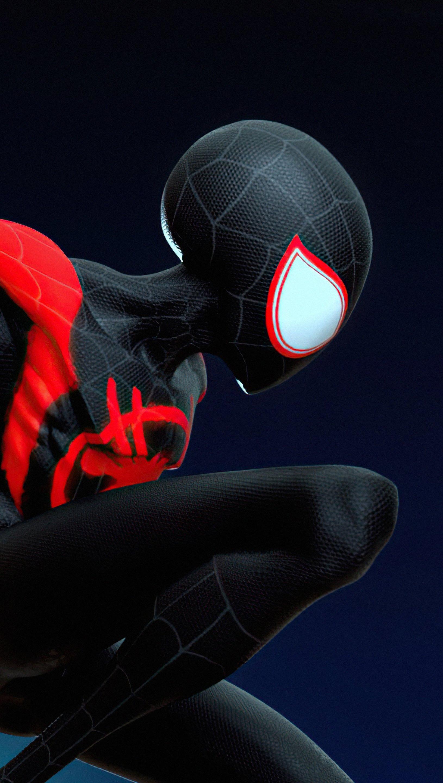Fondos de pantalla Spiderverse Spidey Vertical
