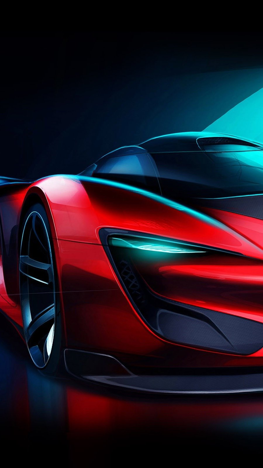 Wallpaper SRT Tomahawk Vision in Gran Turismo Vertical