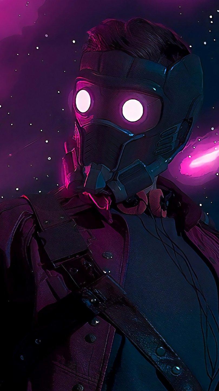 Fondos de pantalla Star-Lord de Guardianes de la Galaxia Vertical
