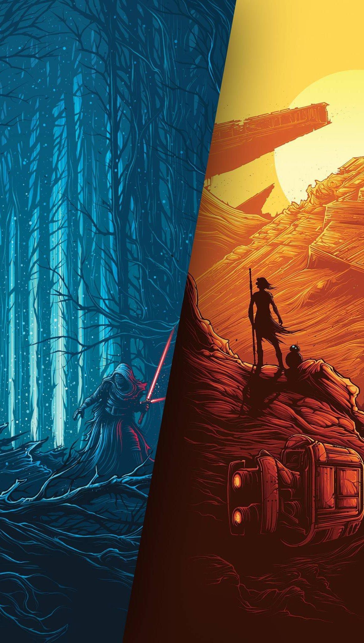 Fondos de pantalla Star Wars El despertar de la Fuerza Poster Vertical