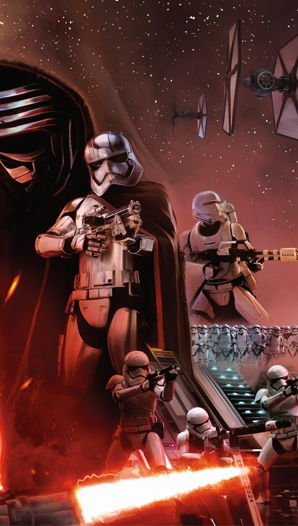 Fondos de pantalla Star Wars Episodio 7 El despertar de la fuerza Vertical