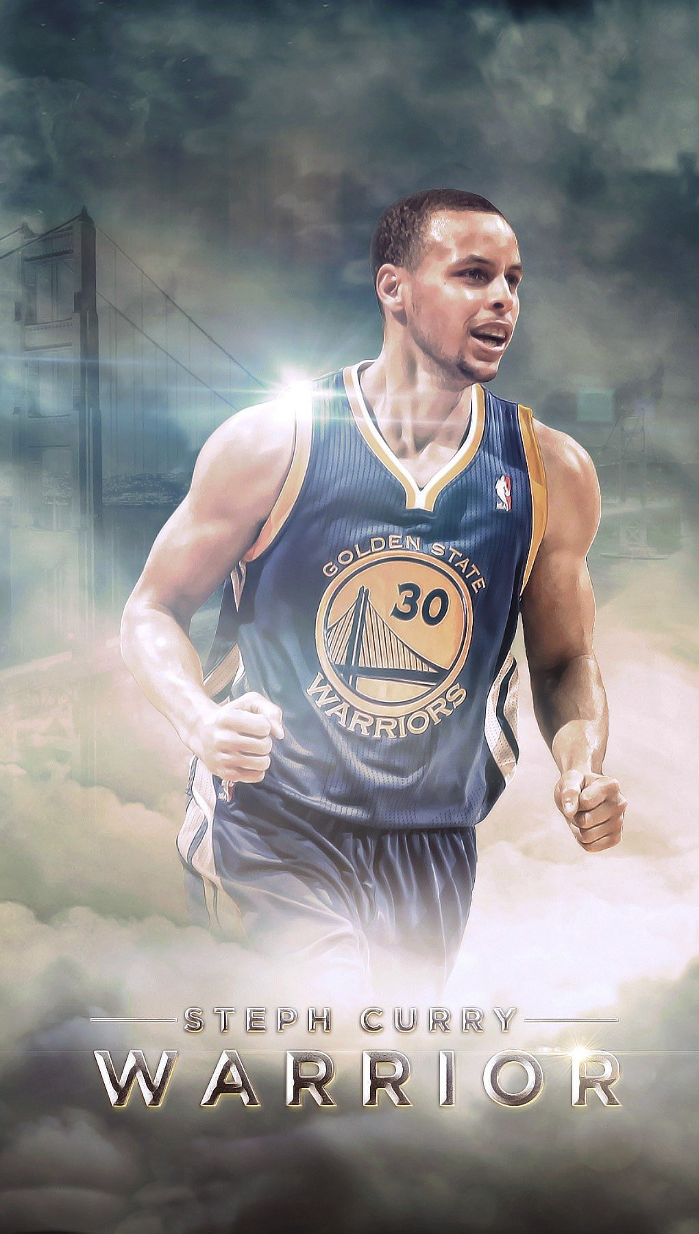 Wallpaper Stephen Curry Vertical