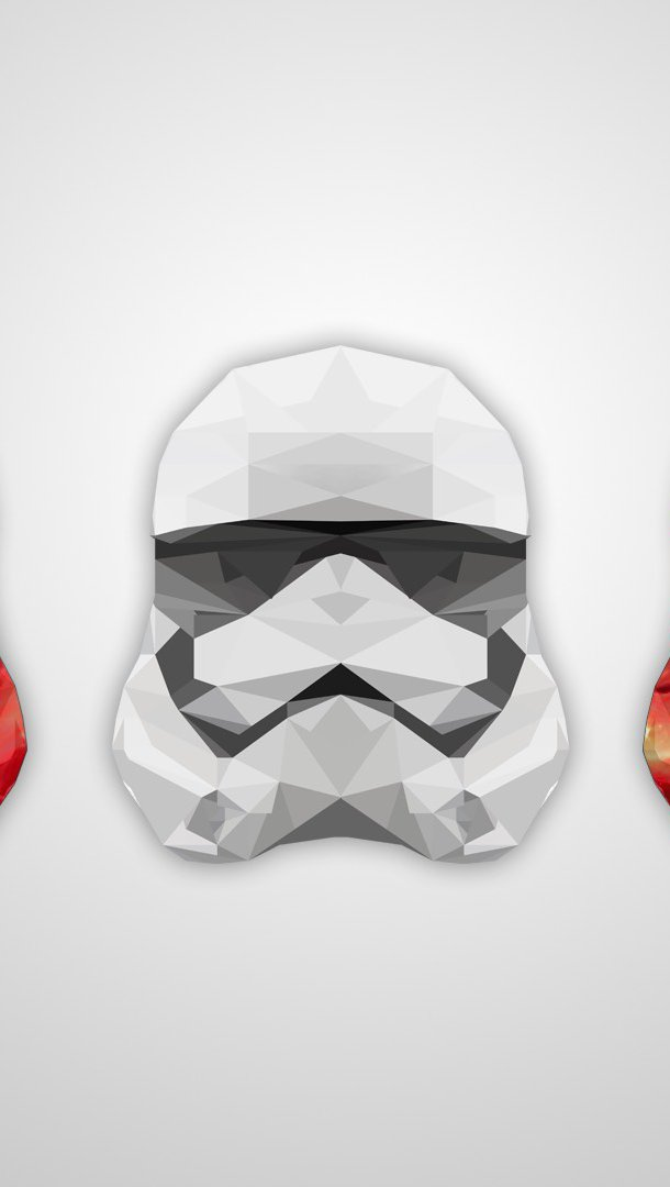 Wallpaper Stormtrooper artistic Vertical