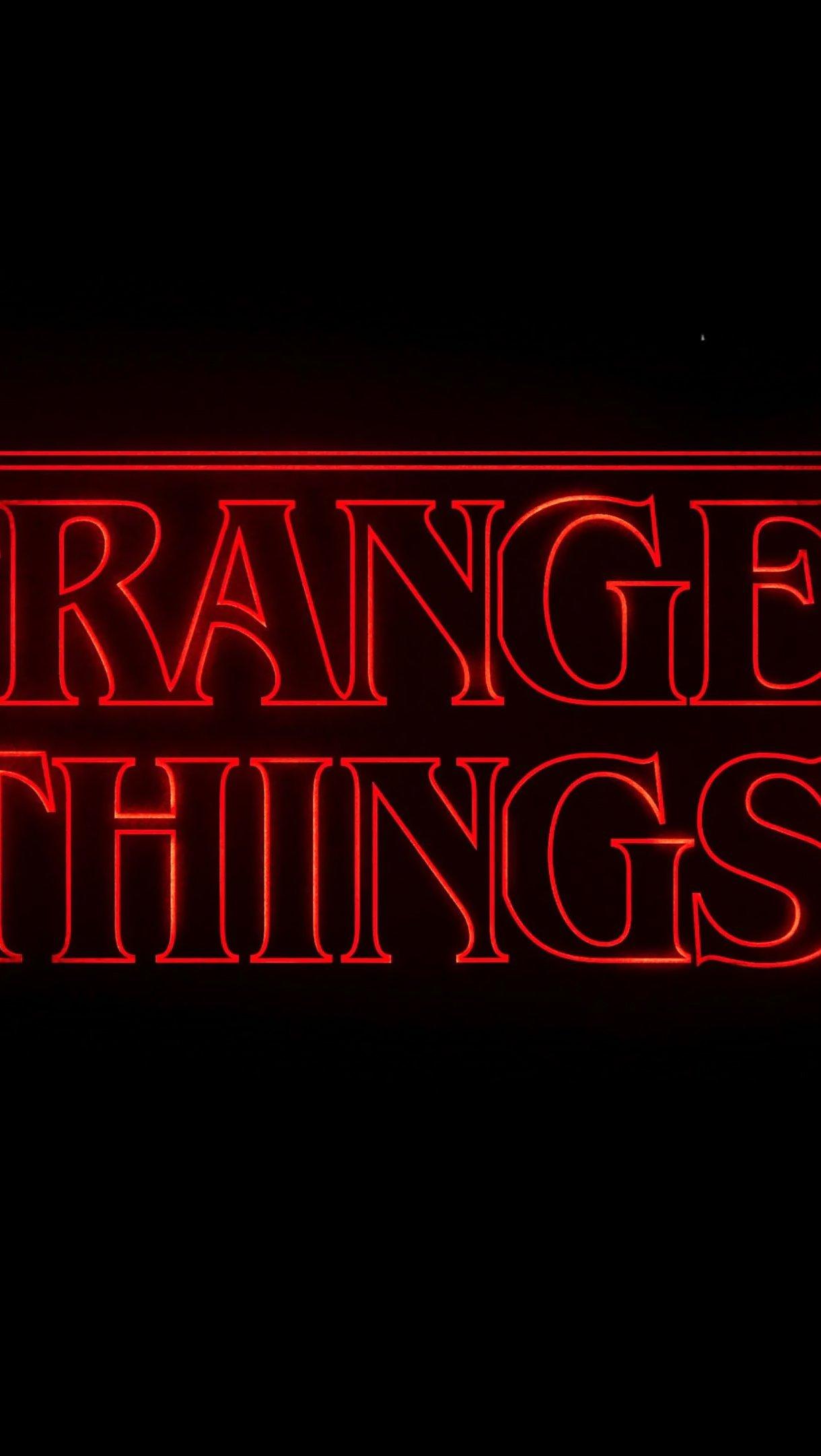 Fondos de pantalla Stranger Things Logo Netflix Vertical