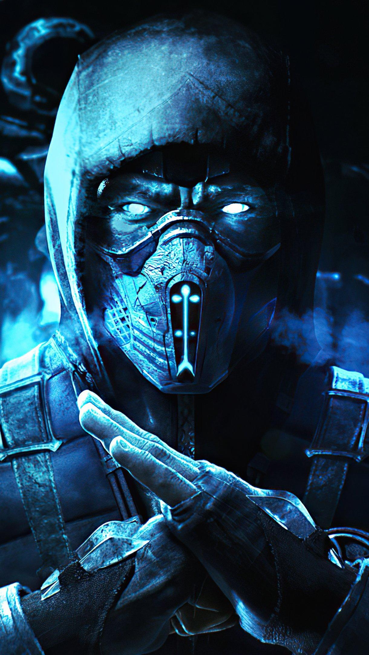 Fondos de pantalla Sub Zero Mortal Kombat 2020 Vertical