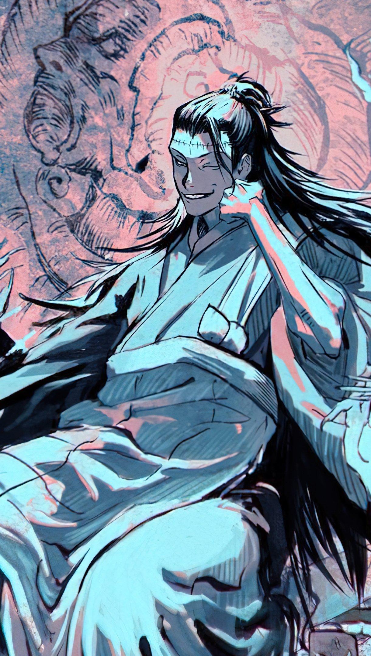 Fondos de pantalla Anime Suguru Geto de Jujutsu Kaisen Vertical
