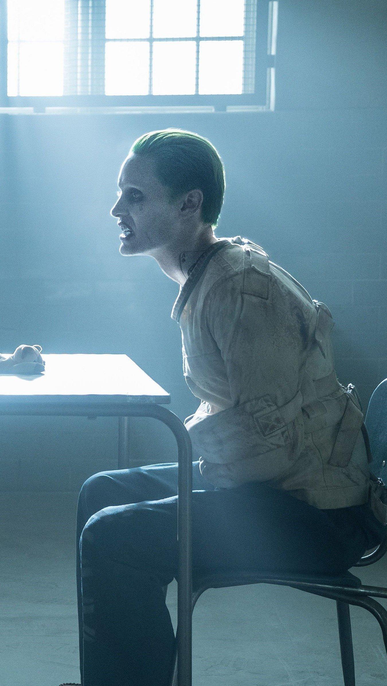 Fondos de pantalla Suicide Squad Jared Leto Joker y Margot Robbie Harley Quinn Vertical