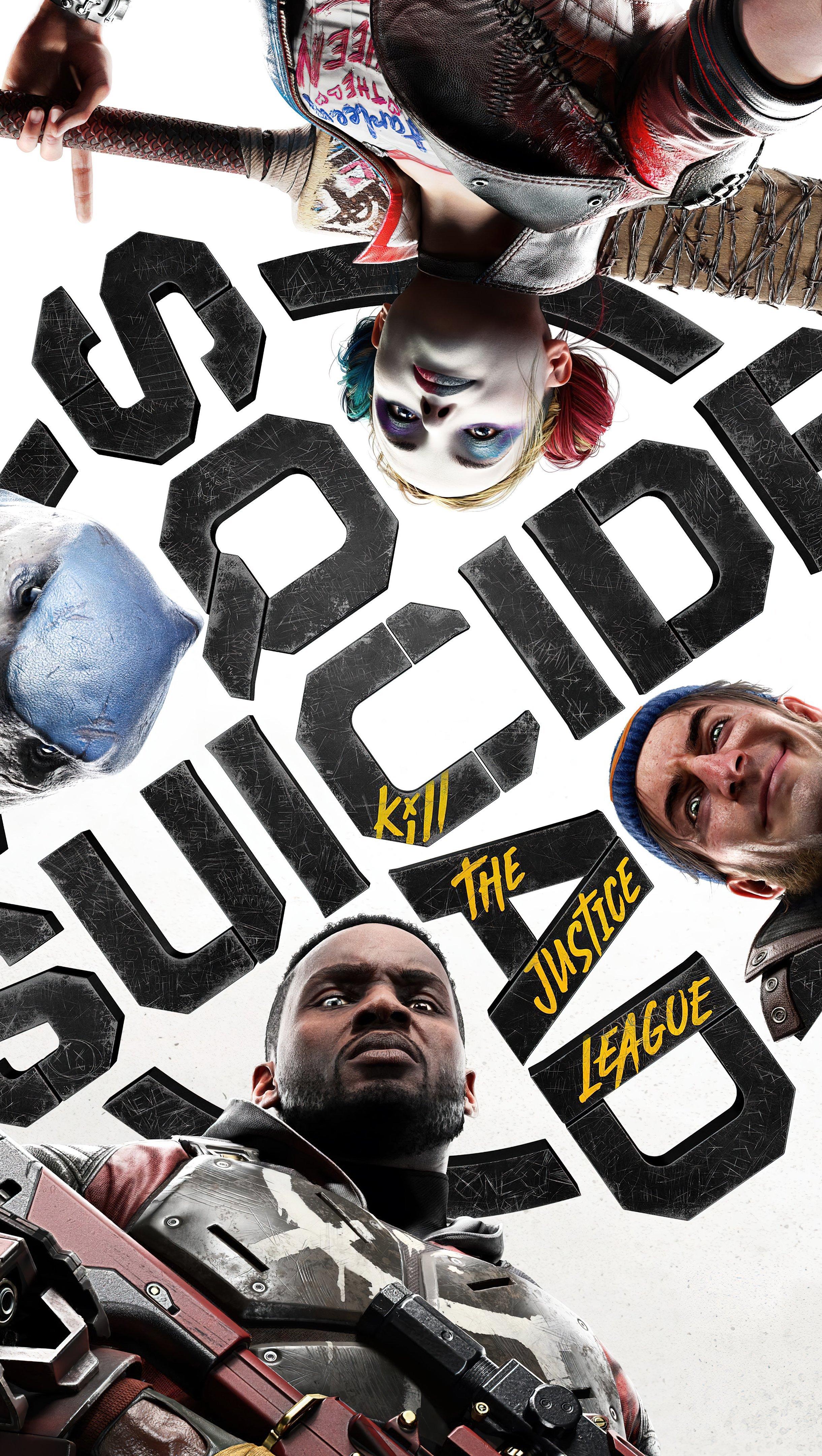 Fondos de pantalla Suicide Squad Kill the Justice League Vertical
