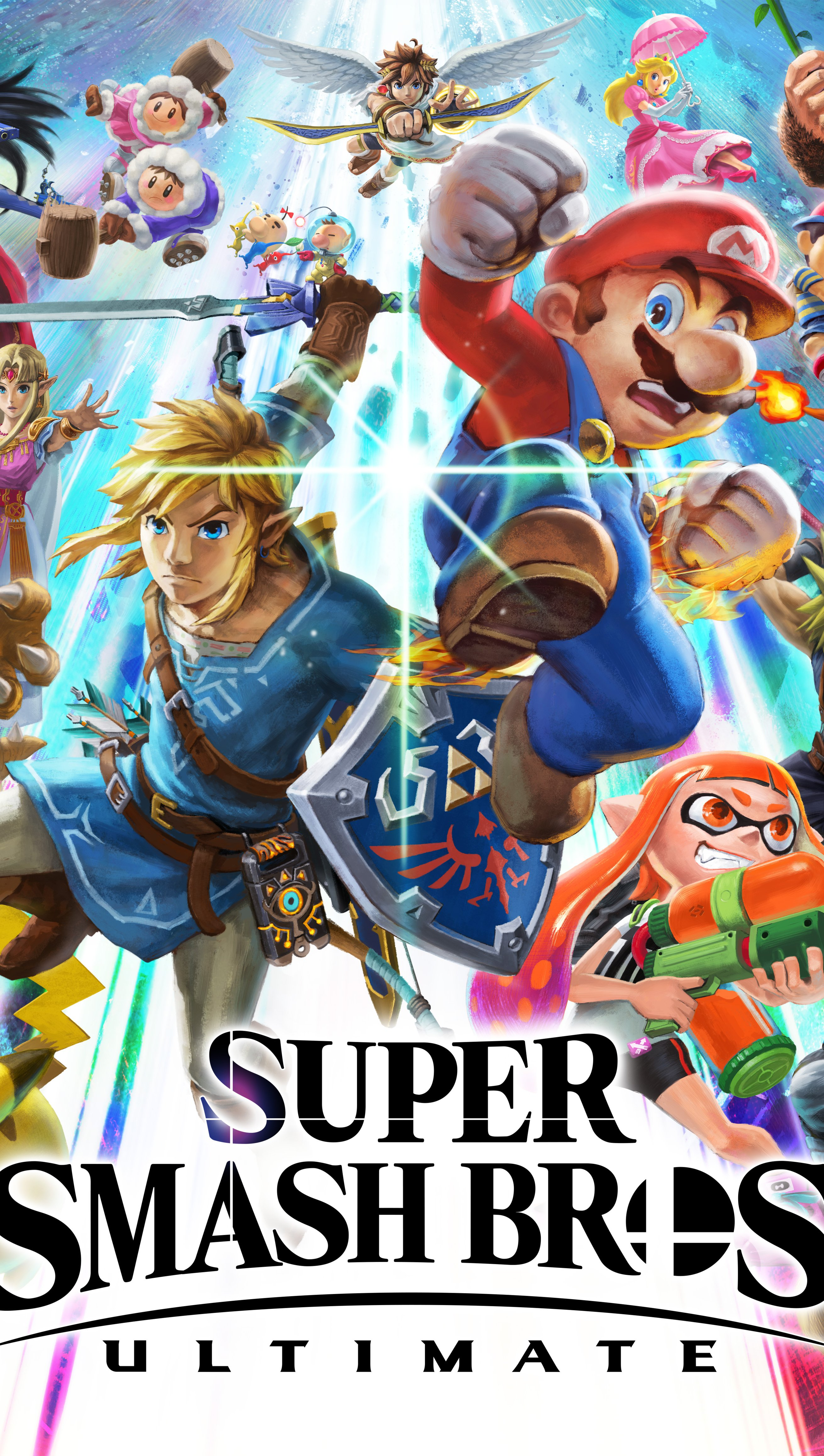 Wallpaper Super Smash Bros Ultimate 8k Vertical