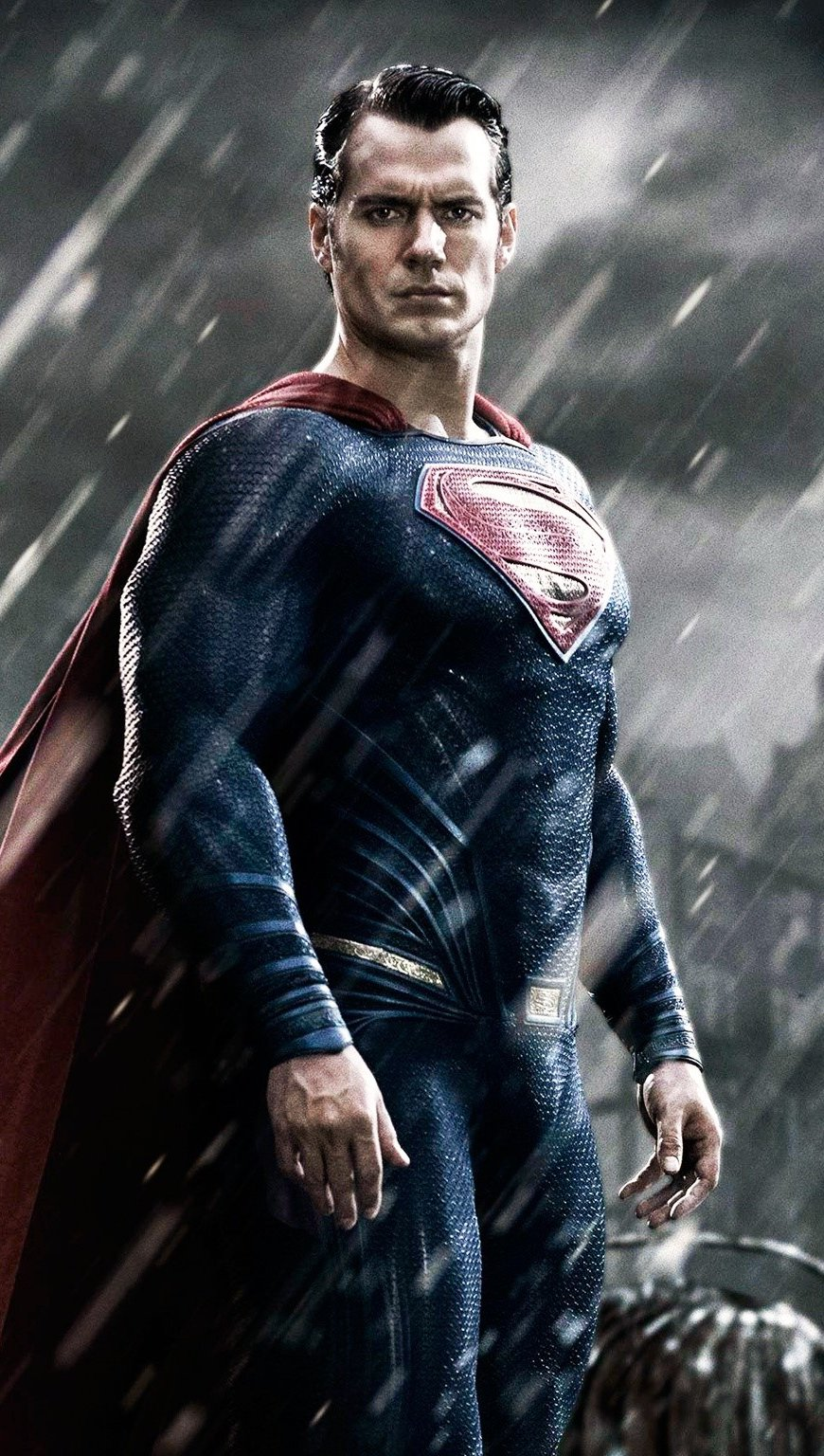 Fondos de pantalla Superman en Batman vs Superman Dawn of justice Vertical