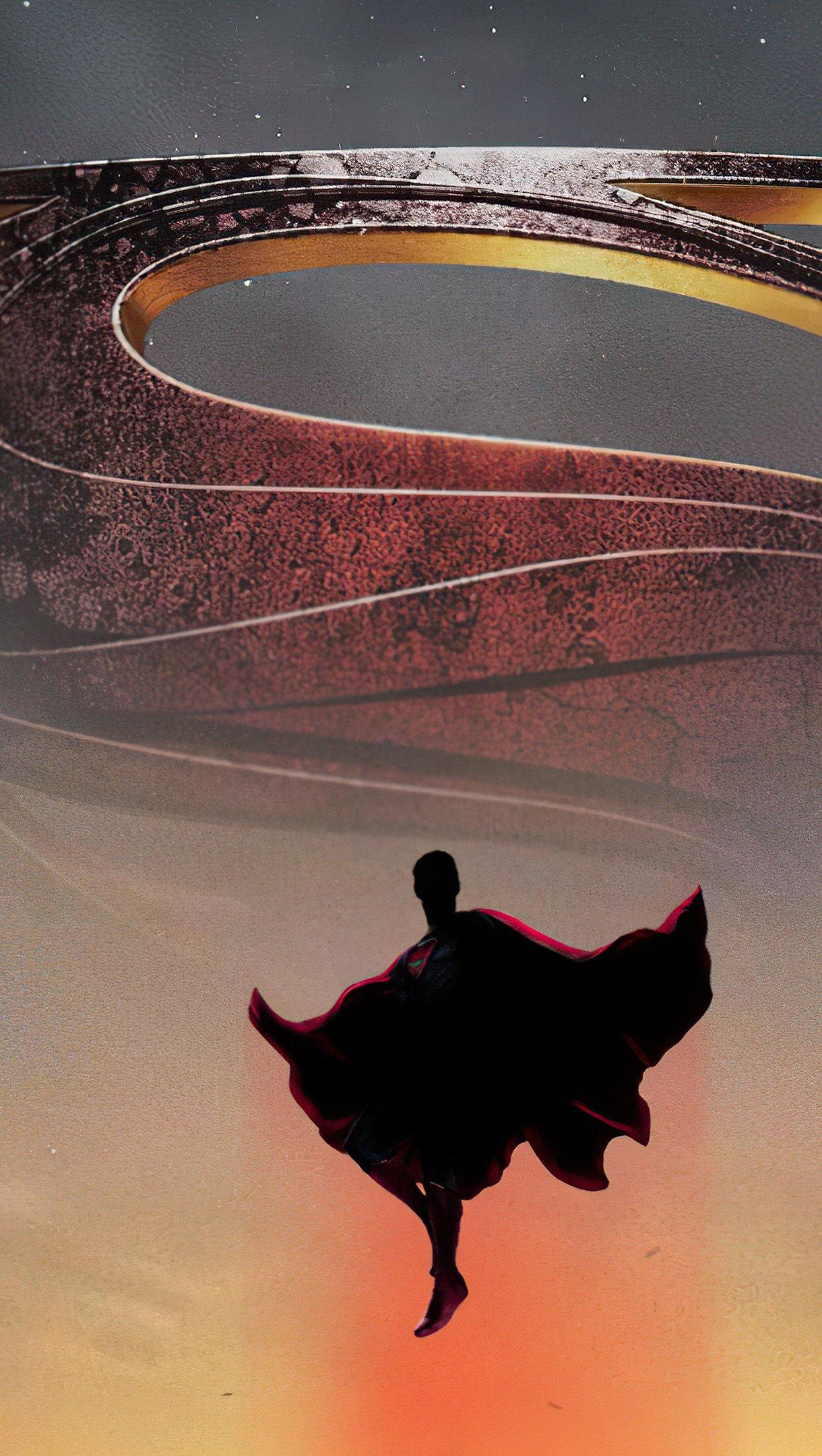 Wallpaper Superman Eternals Poster Vertical