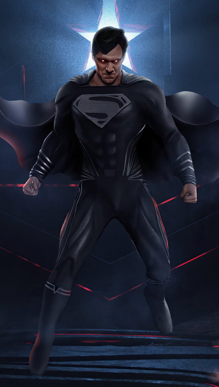 Wallpaper Superman Fanart 2021 Vertical