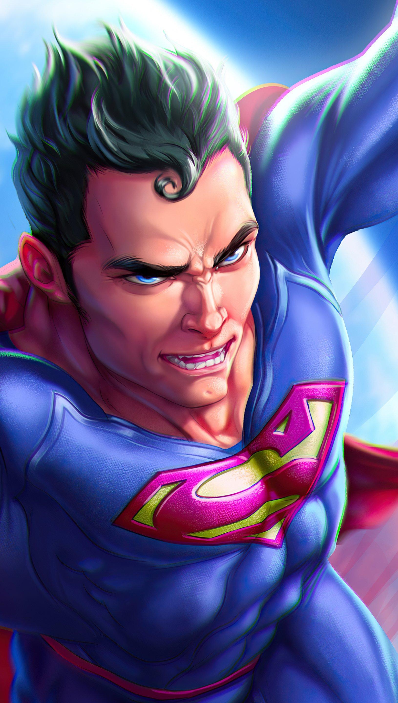 Fondos de pantalla Superman Fuera del mundo Vertical