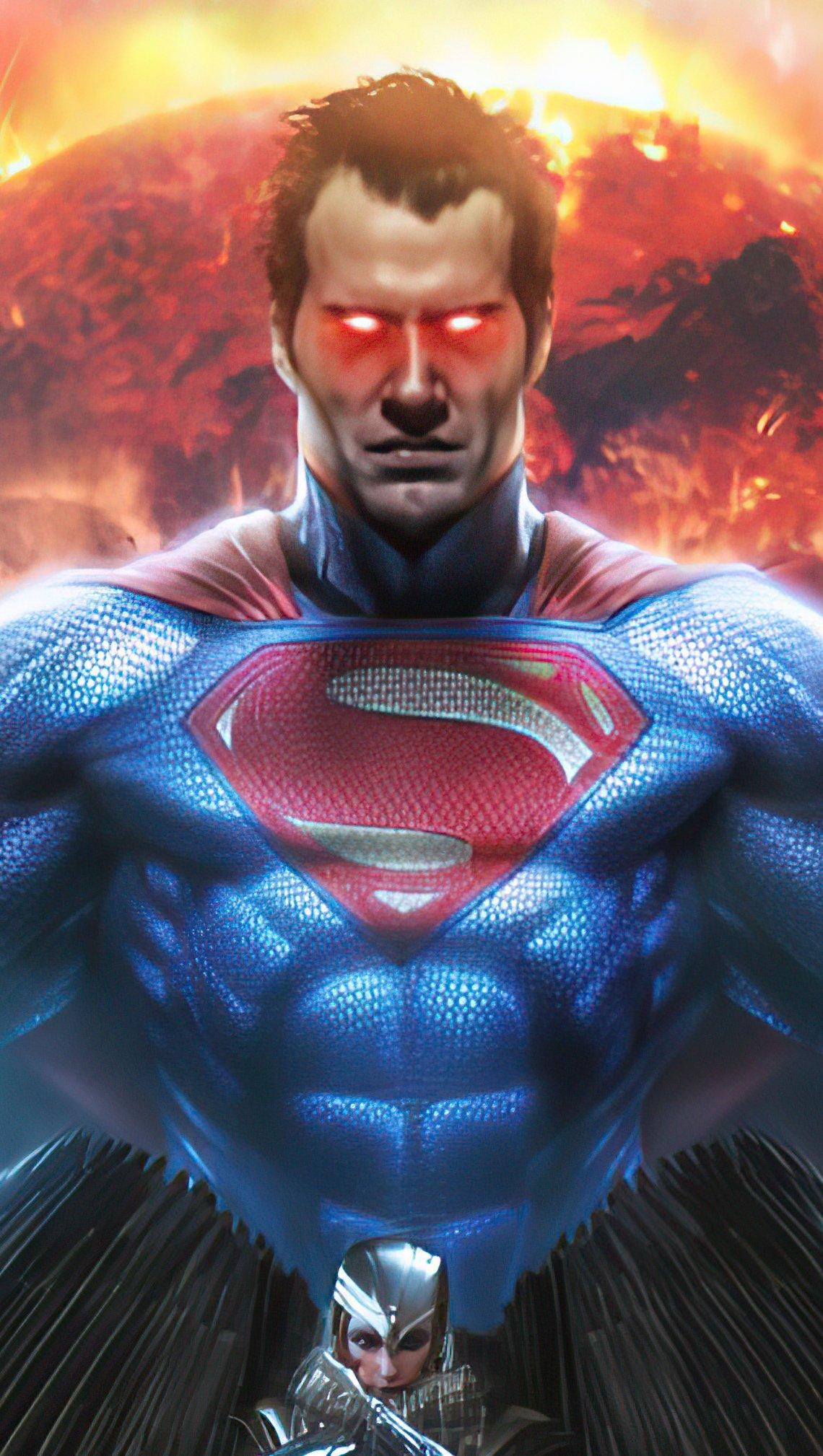 Fondos de pantalla Superman Hombre de acero 2020 Vertical