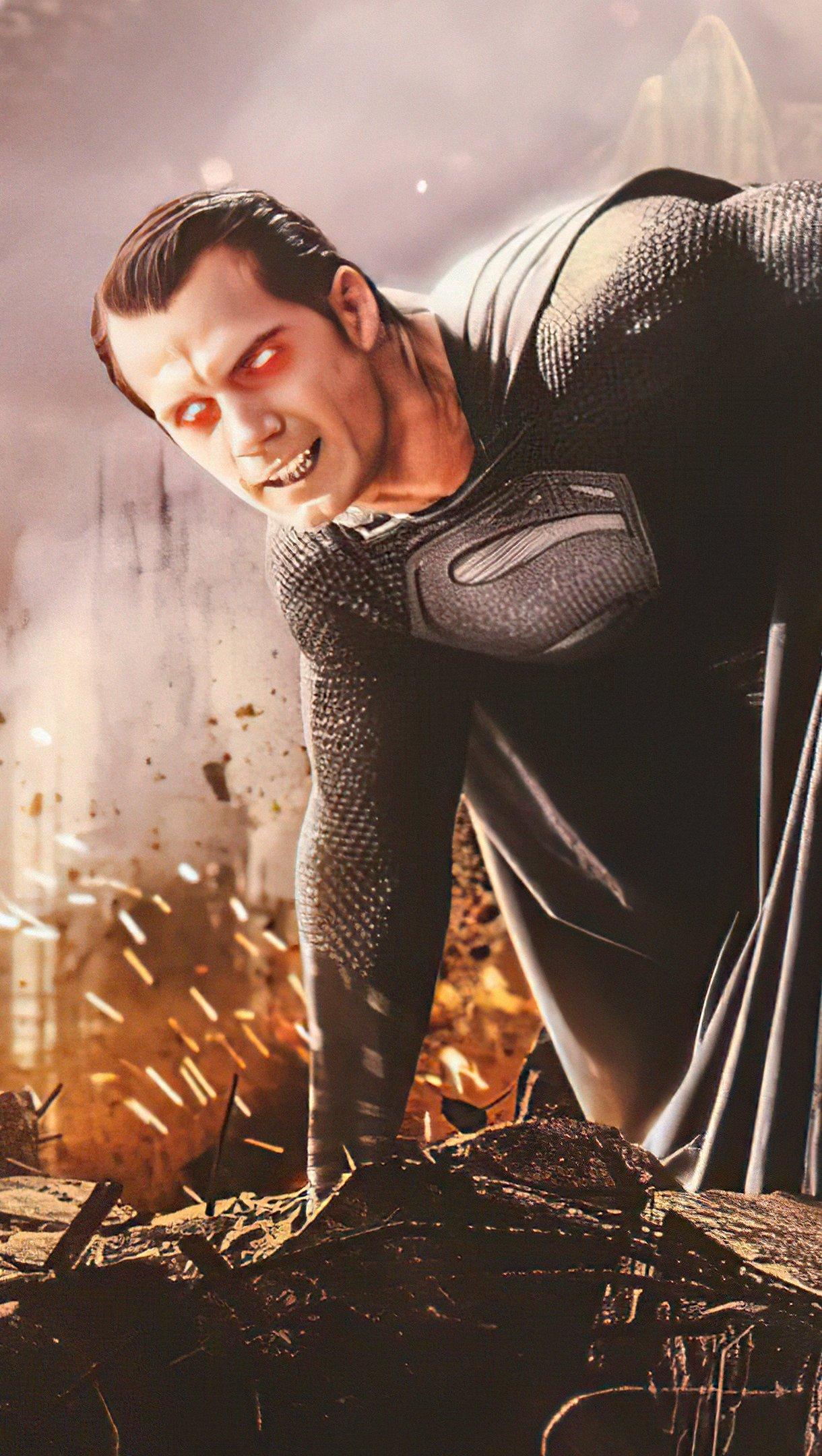 Fondos de pantalla Superman Snyder cut Vertical
