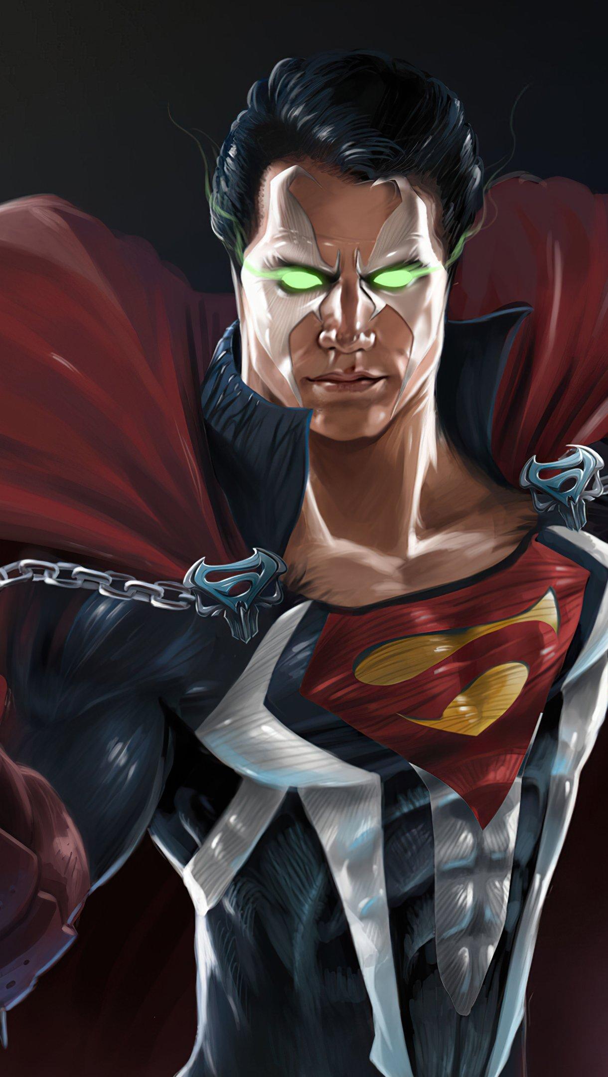 Wallpaper Superman Spawn Vertical