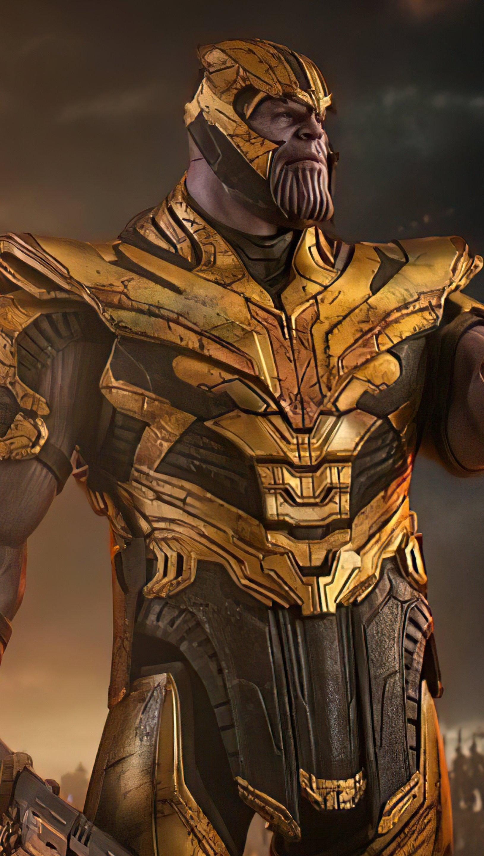 Fondos de pantalla Supervillano Thanos Vertical