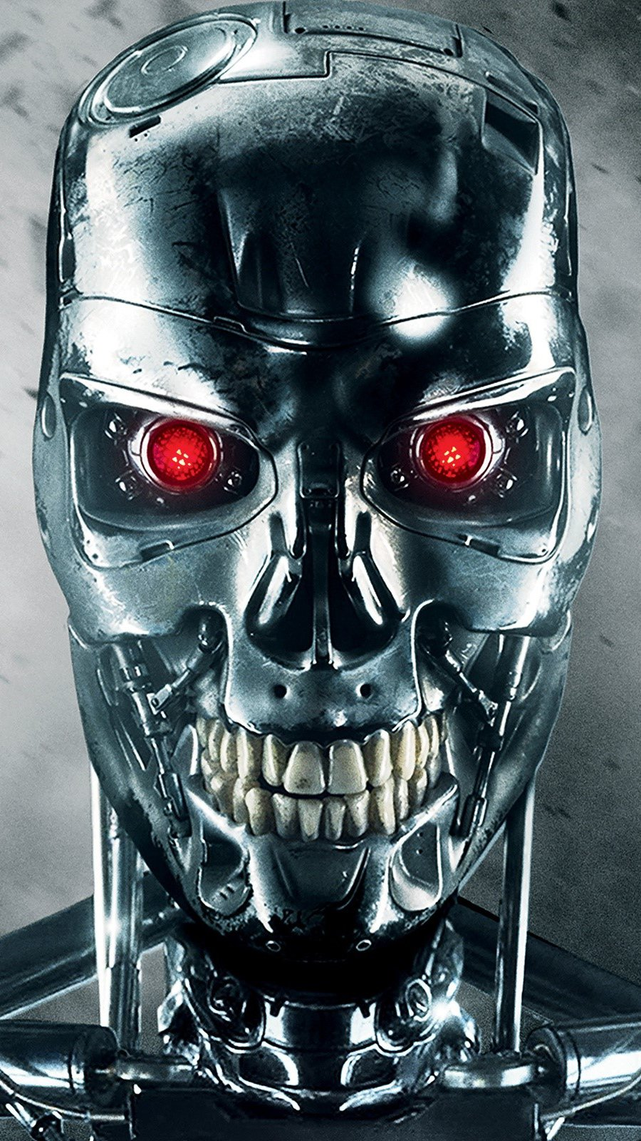 Wallpaper T 800 in Terminator Genesis Vertical