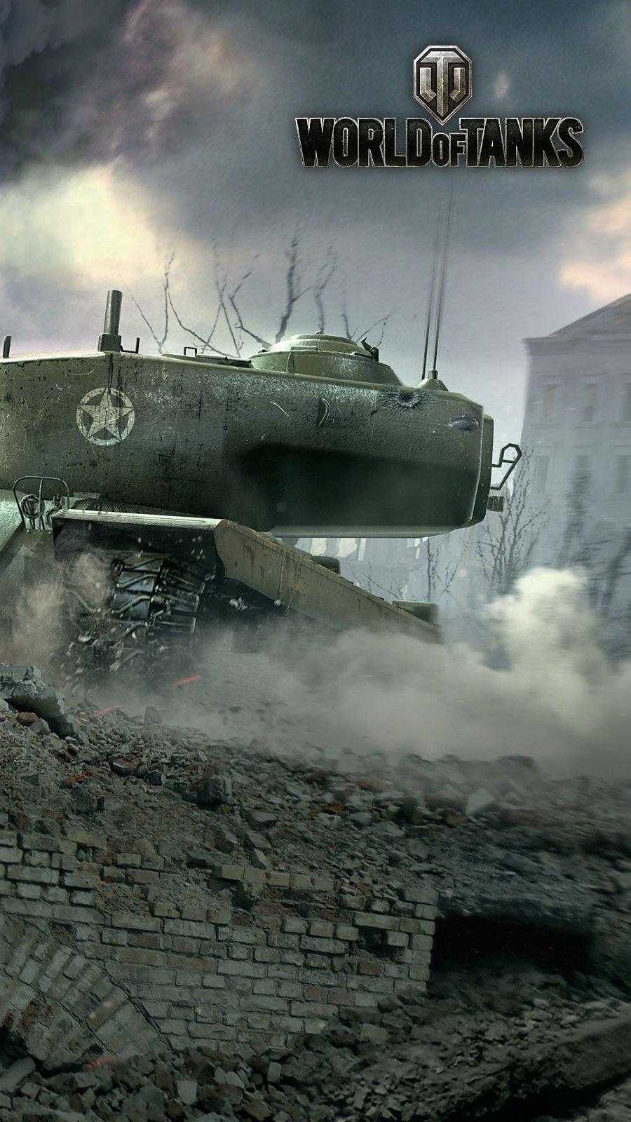 Wallpaper T34 World of tanks Vertical