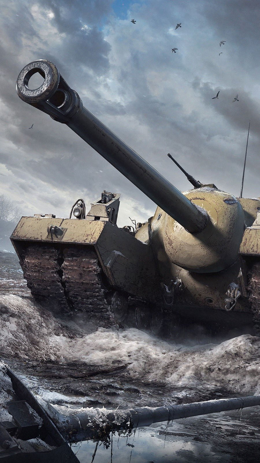 Fondos de pantalla T95 World Of Tanks Vertical