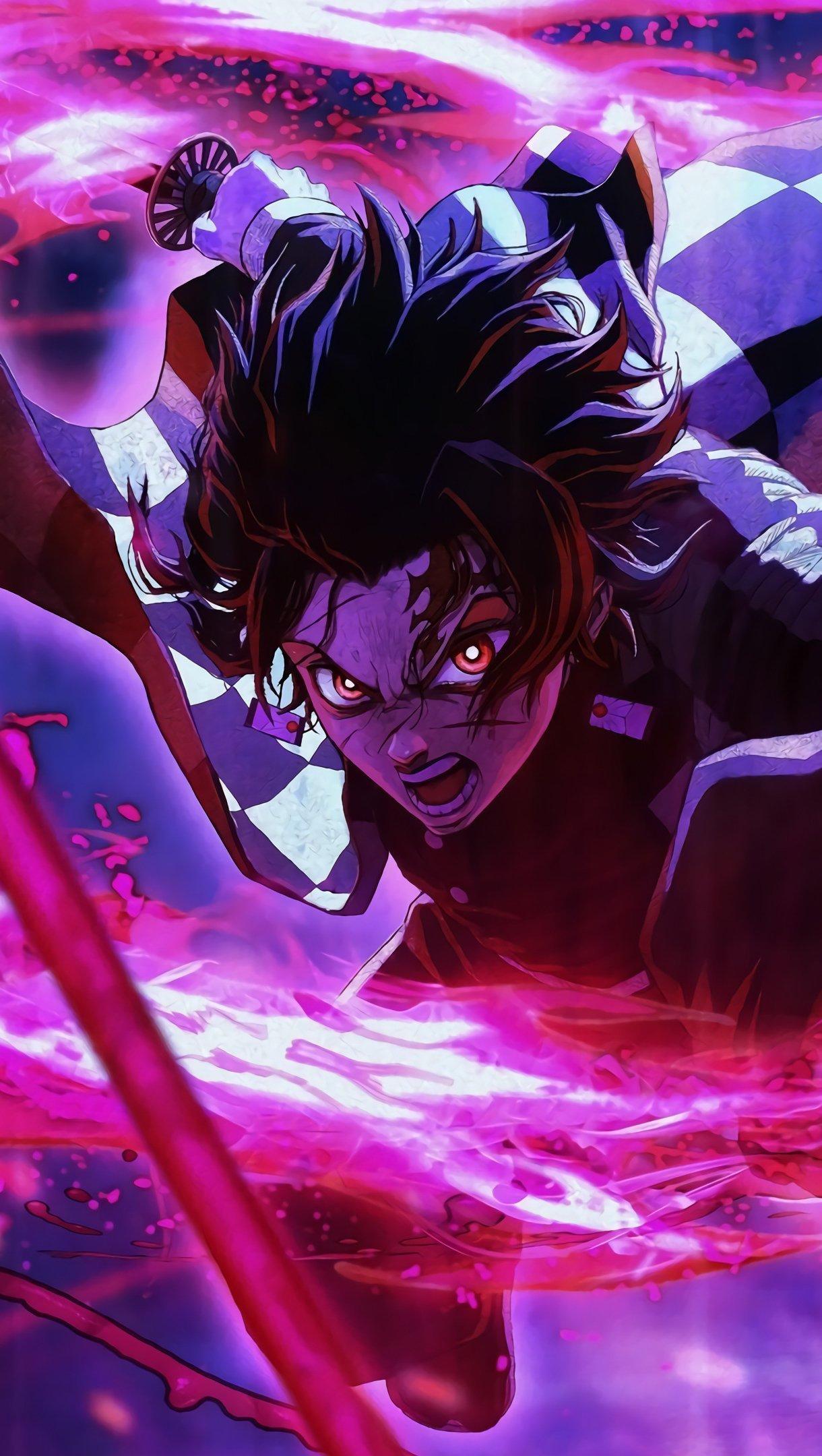 Tanjiro Kamado de Kimetsu no Yaiba Anime Fondo de pantalla ...