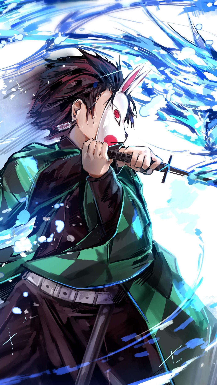 Fondos de pantalla Anime Tanjirou Kamado personaje de Los Guardianes de la Noche Vertical