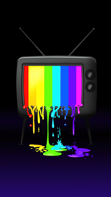 Fondos de pantalla Tele RGB Minimalista Vertical