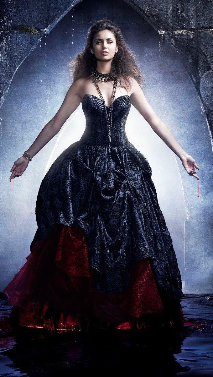 Wallpaper Season 4 of Vampire Diaries Vertical