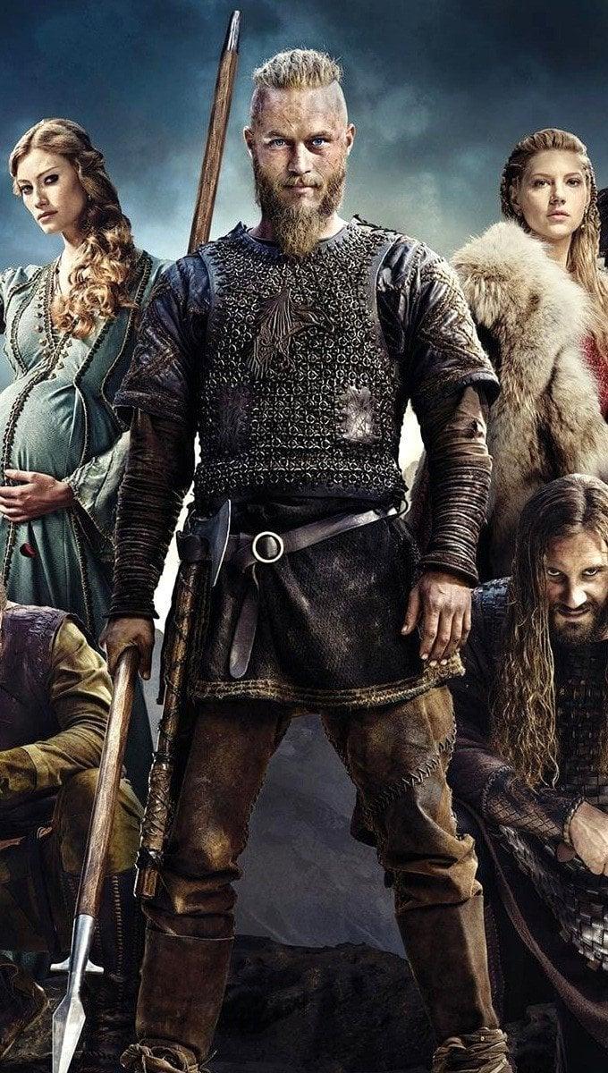 Fondos de pantalla Temporada 4 de Vikingos Vertical