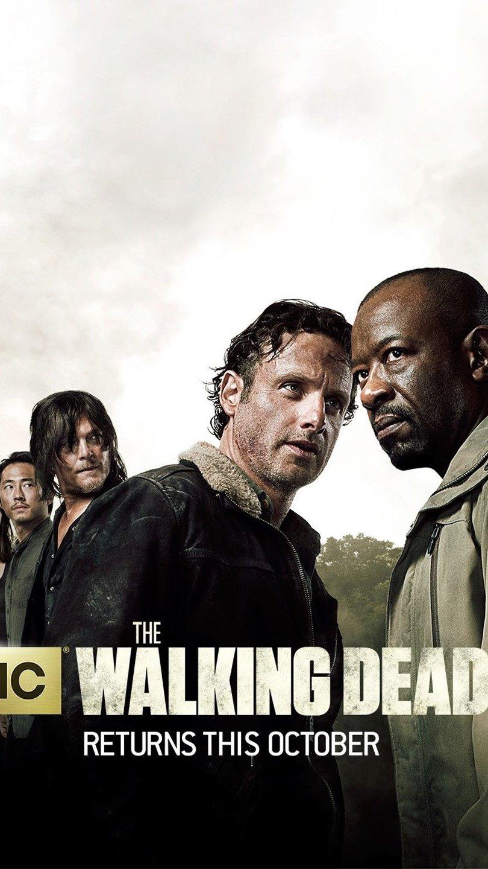 Wallpaper Season 6 of The Walking Dead Vertical