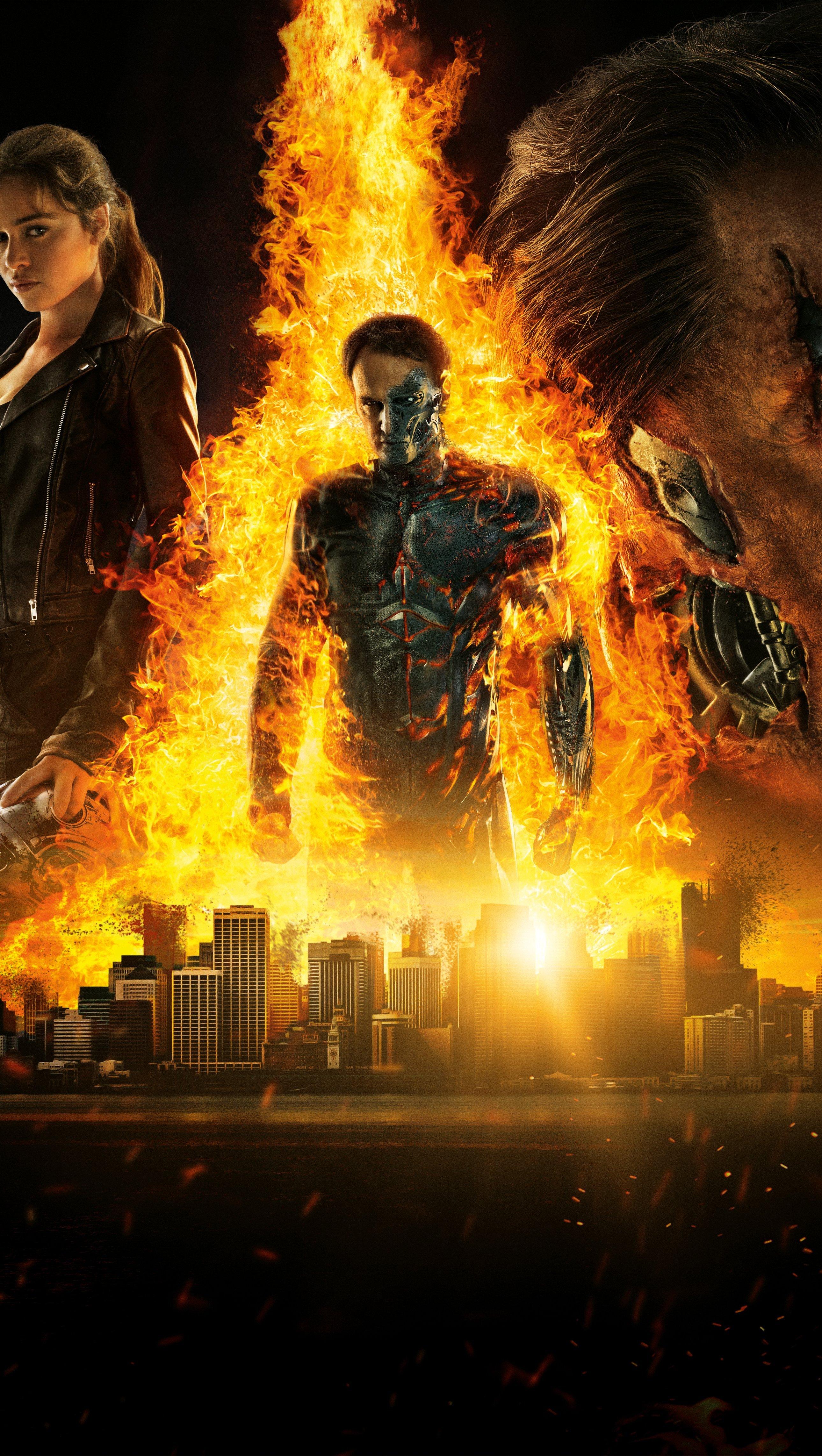 Fondos de pantalla Terminator Génesis 2021 Vertical