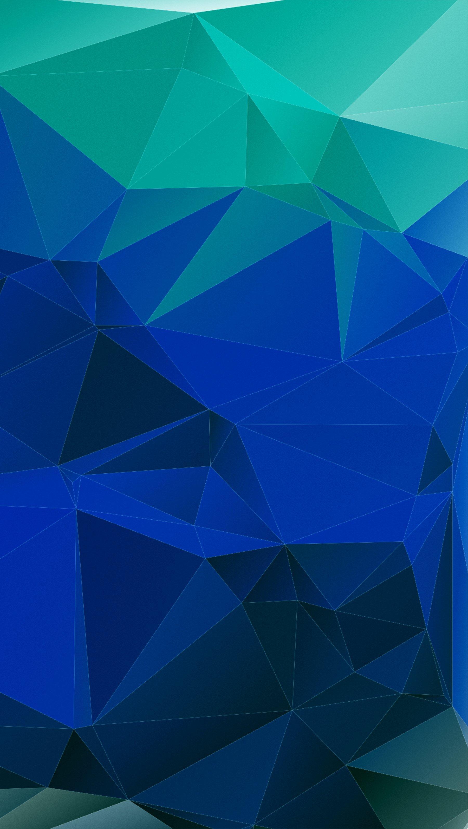 Fondos de pantalla Textura de triágulos azules Vertical