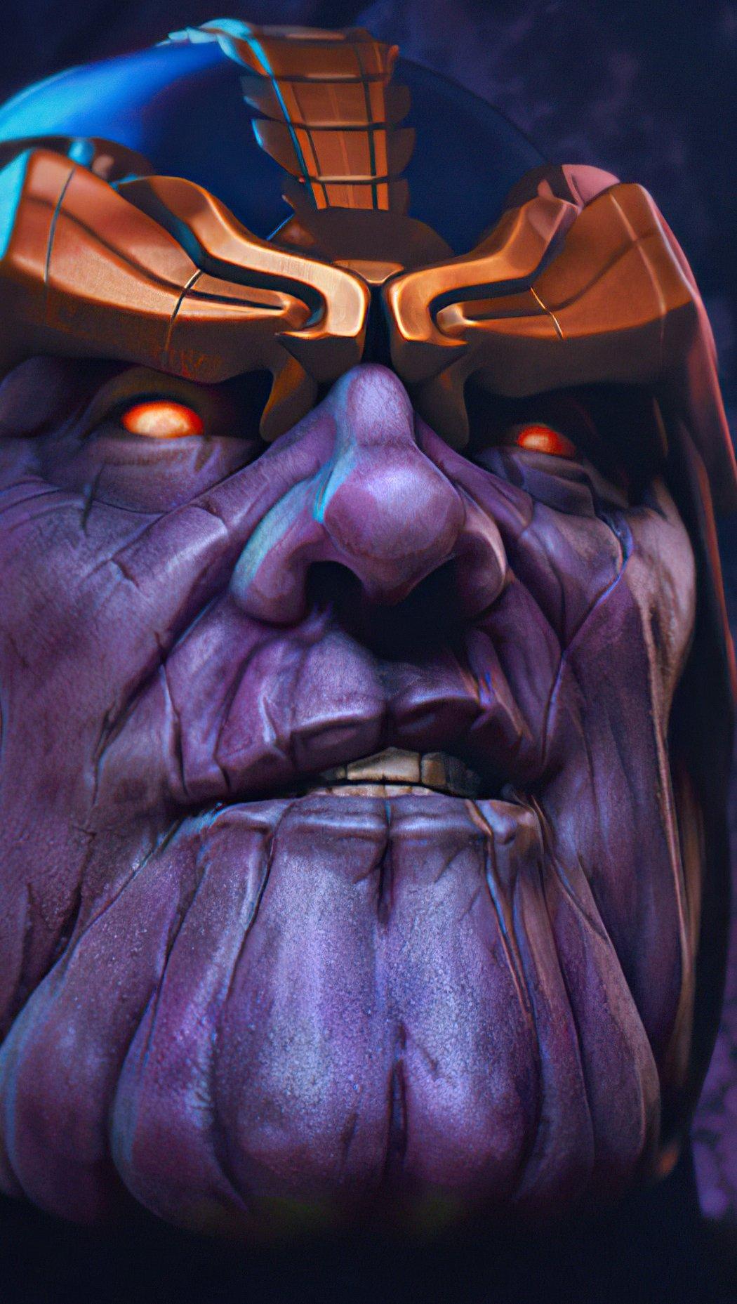 Wallpaper Thanos Artwork Vertical