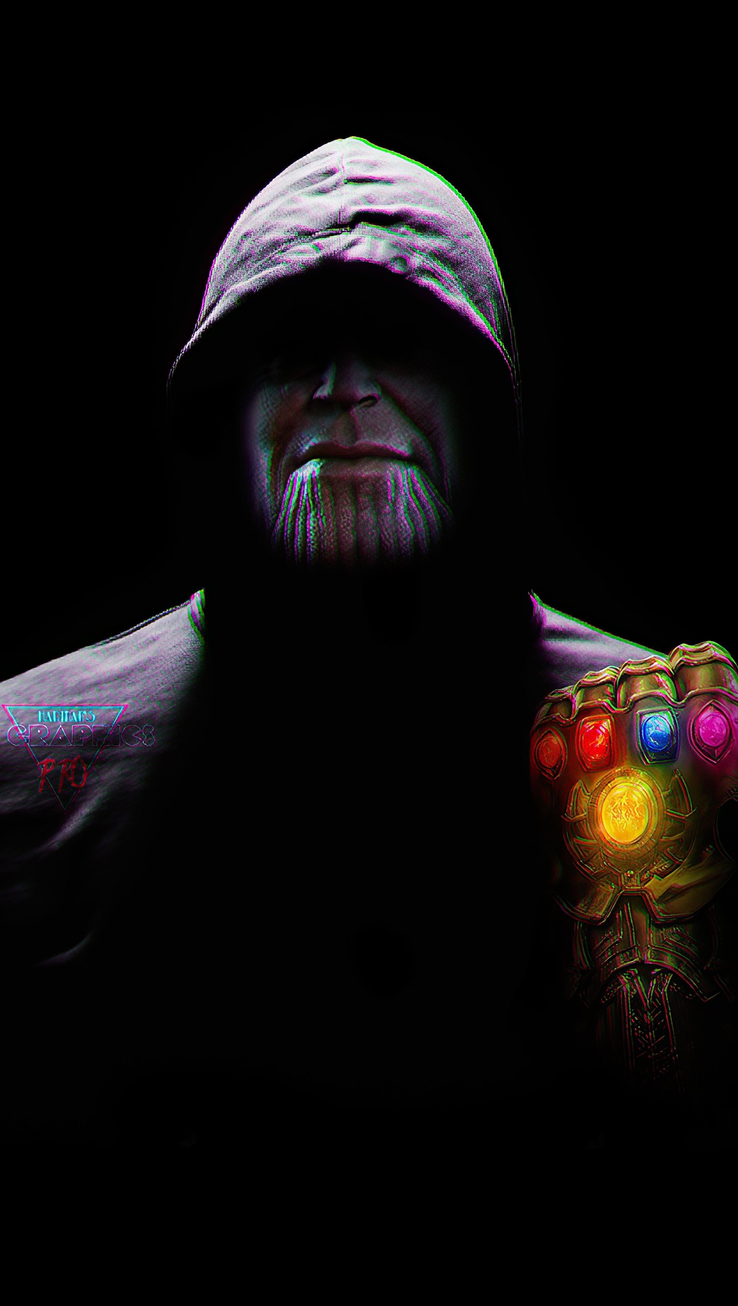 Fondos de pantalla Thanos con capucha Vertical