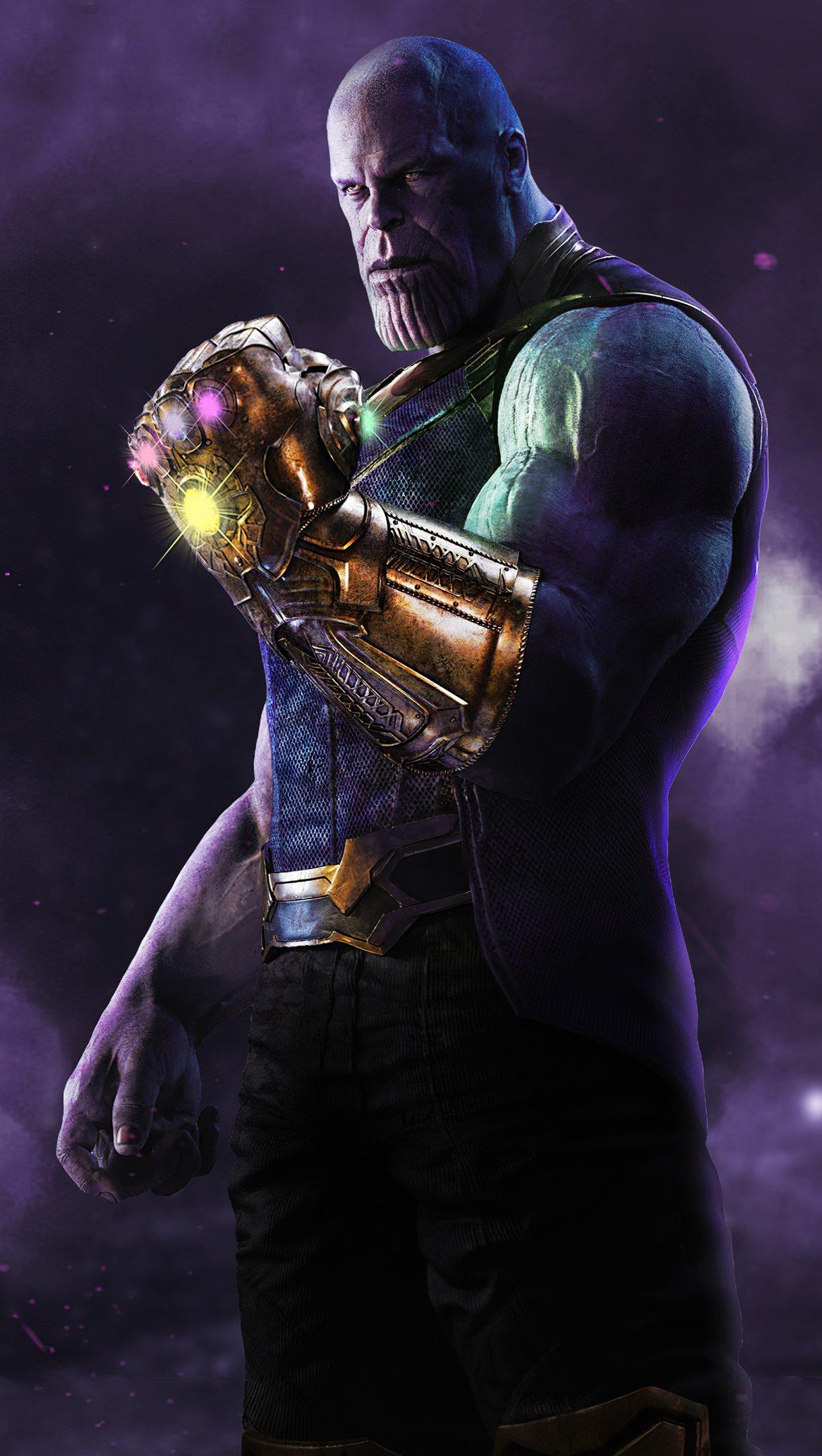 Wallpaper Thanos The Mad Titan Vertical