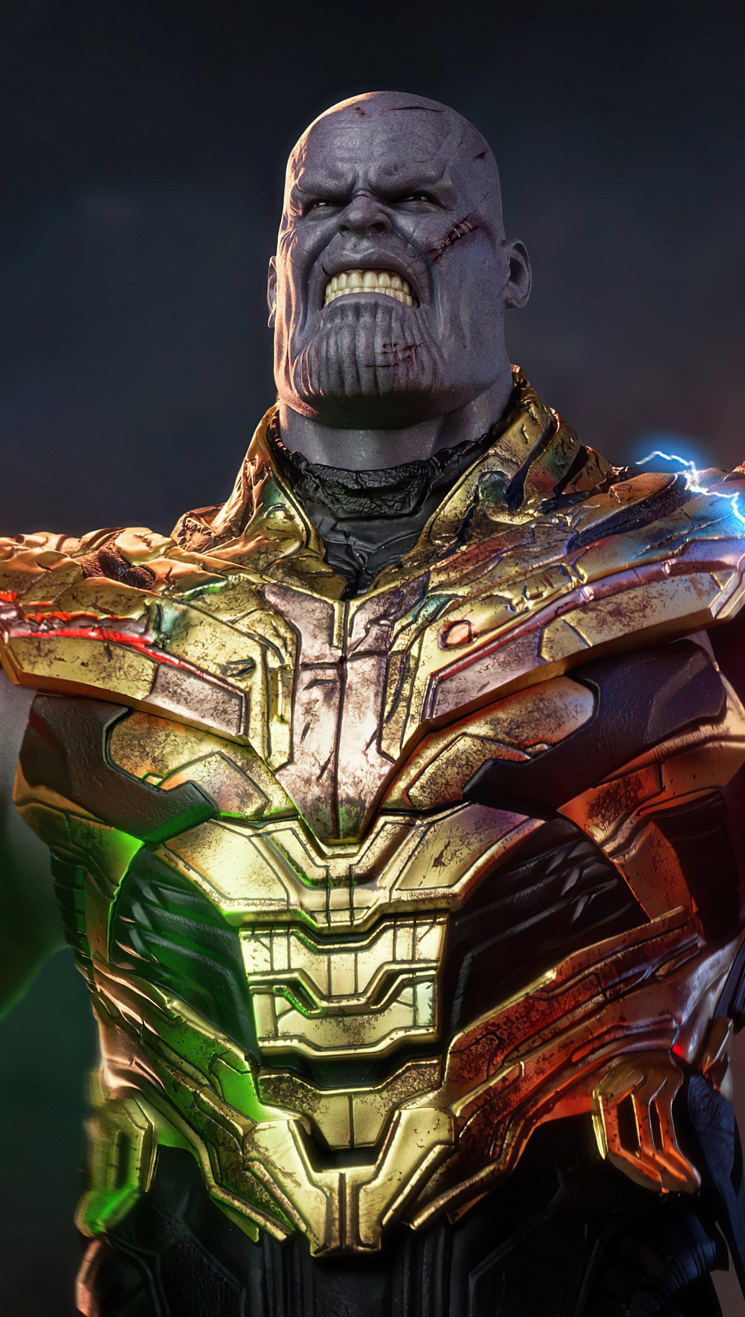 Fondos de pantalla Thanos El mundo es mío Vertical