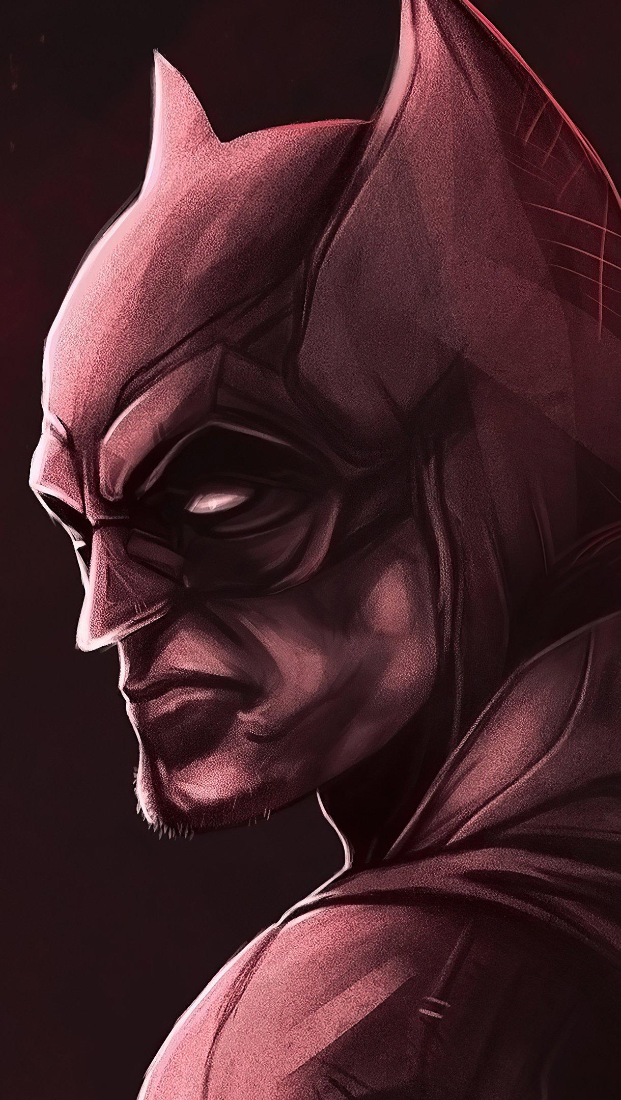 Wallpaper The Batman 2021 New Fanart Vertical