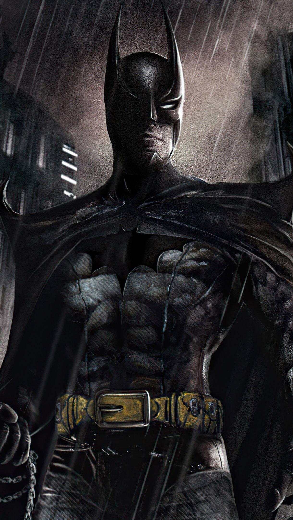 Fondos de pantalla The Batman Concepto Oscuro Vertical