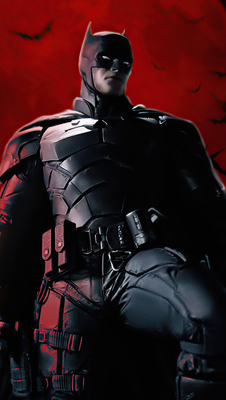 Fondos de pantalla The Batman Robert Pattinson Vertical