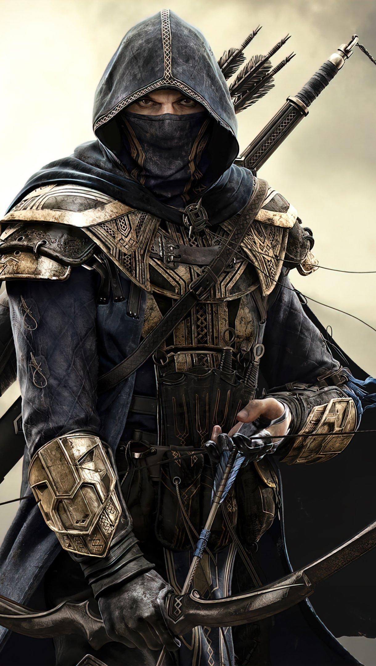 Fondos de pantalla The Elder Scrolls Online Nightblade Vertical
