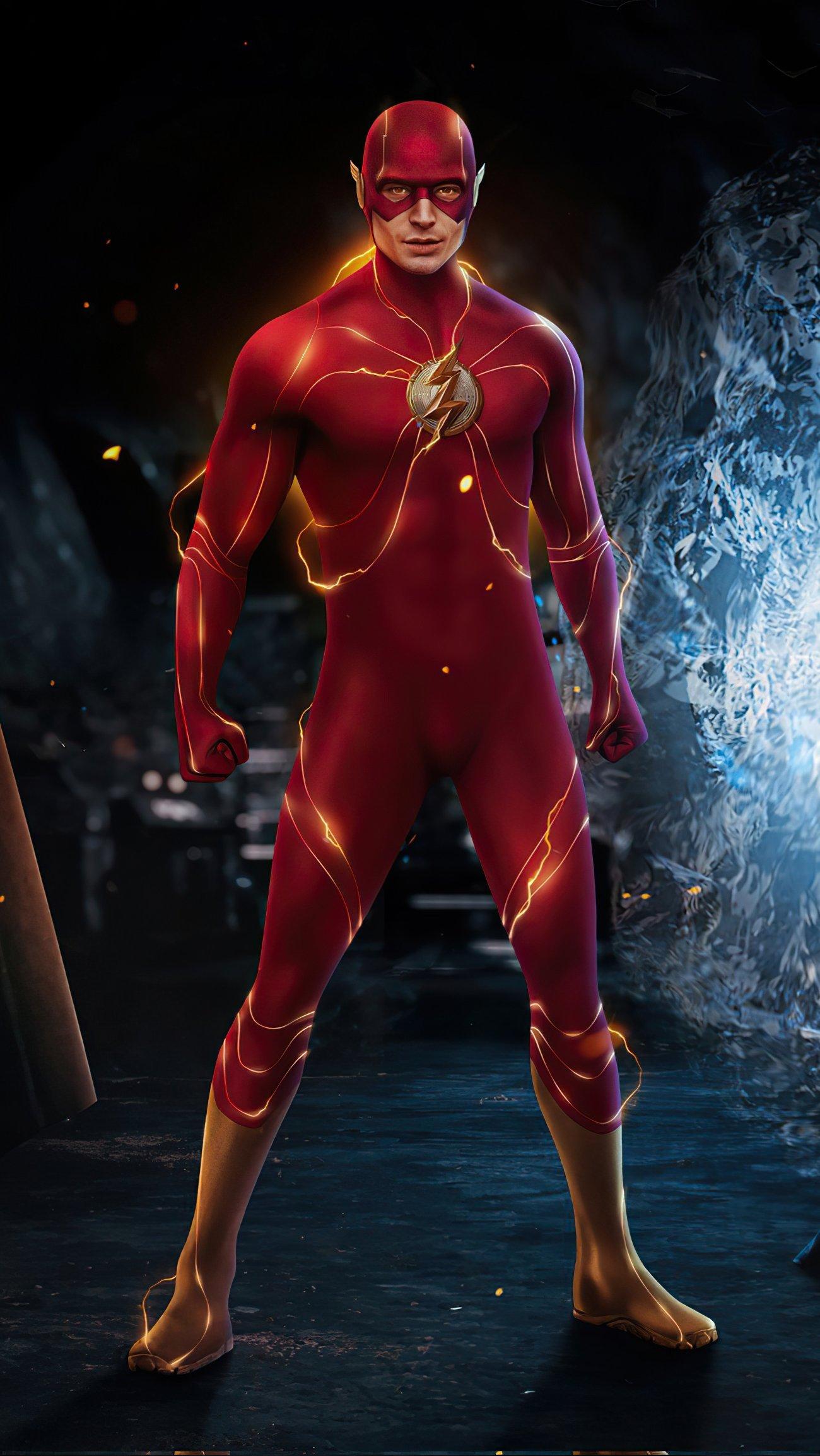 Fondos de pantalla The Flash 2022 Vertical