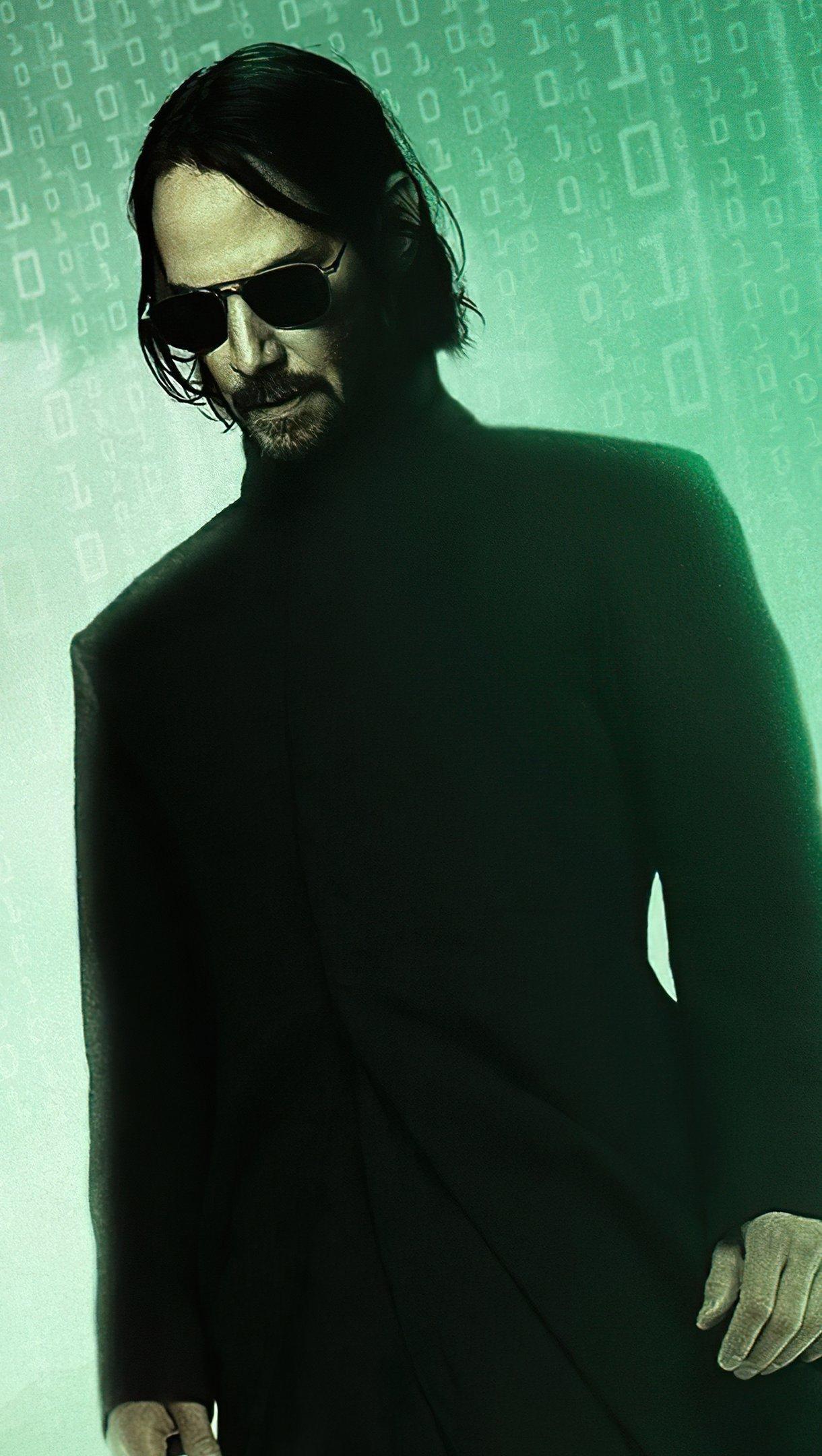 Fondos de pantalla The Matrix Resurrections Vertical